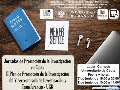 Jornadas de Promoción de la Investigación en el Campus de Ceuta